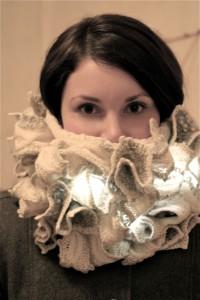 LED-scarf