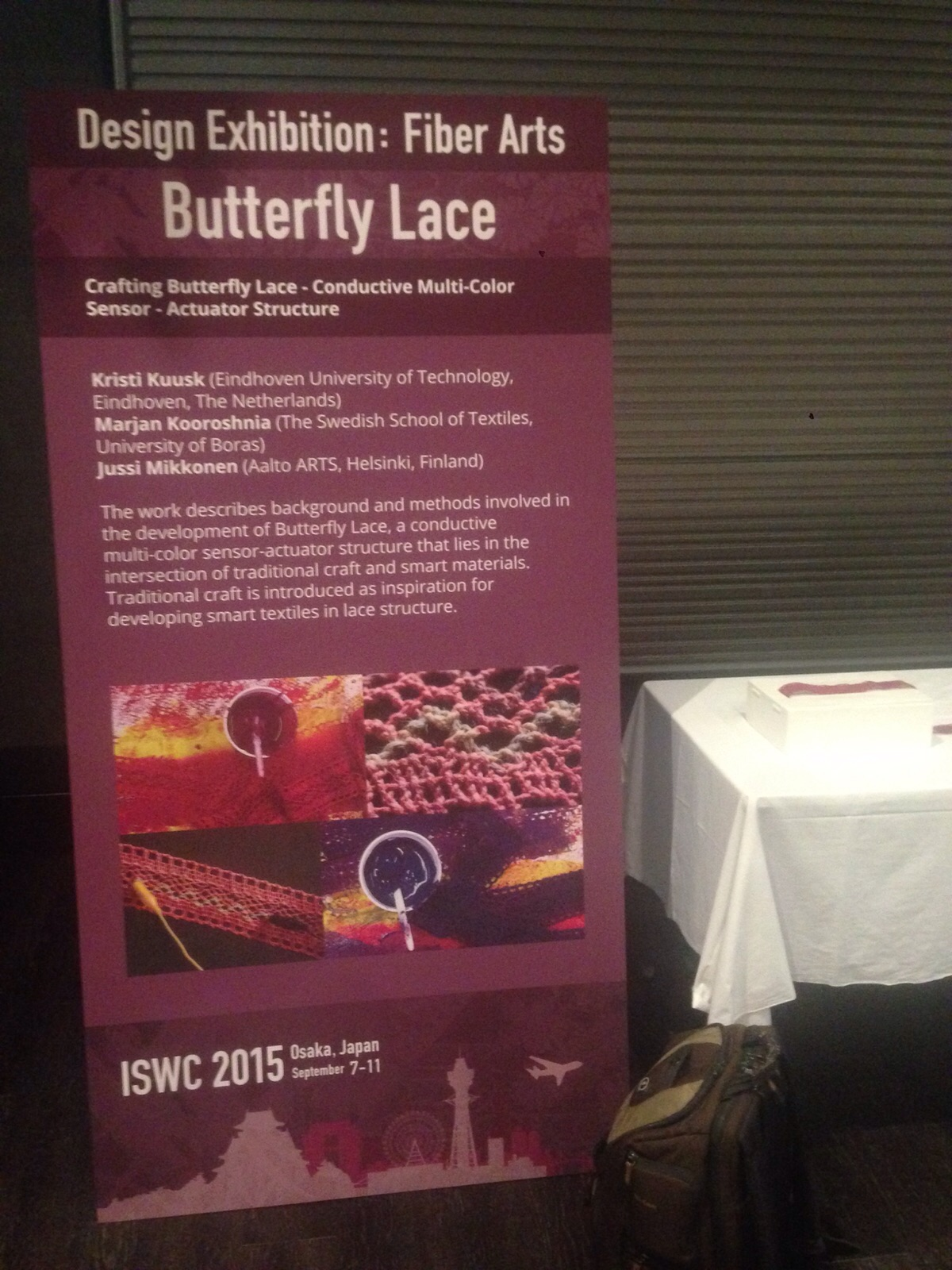 Developing Butterfly Lace